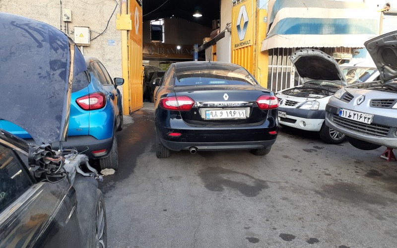تعمیرگاه تخصصی رنو فلوئنس در تهران