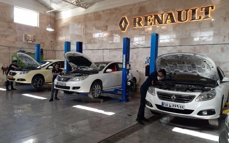 تعمیرگاه تخصصی رنو سفران با کادری حرفه ای در تهران